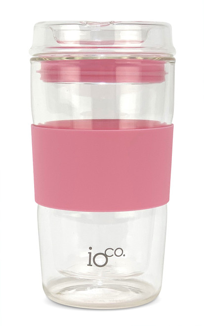 Glass Traveller 12oz - Dusty Rose