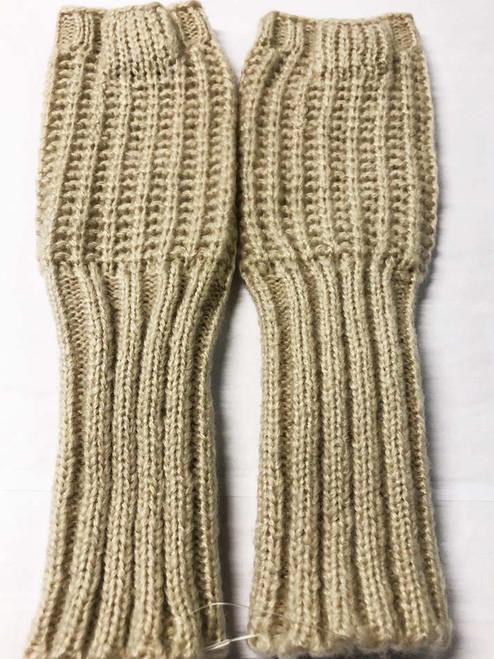 Mohair Gloves - Oat