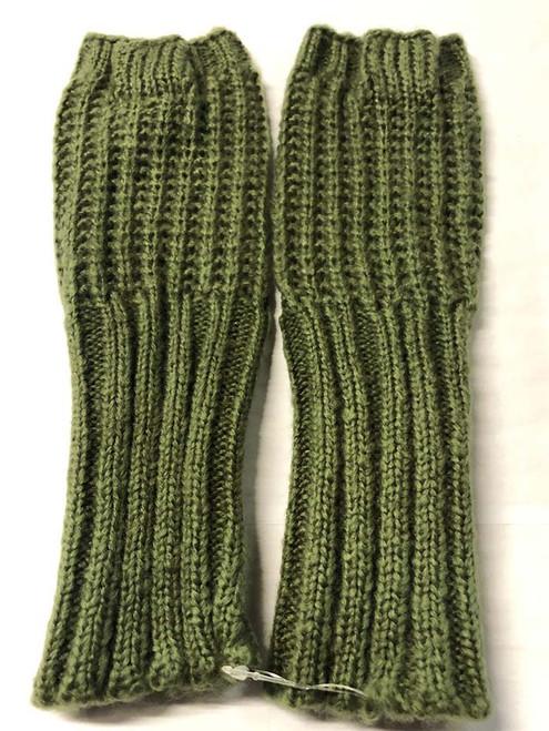 Mohair Gloves - Khaki