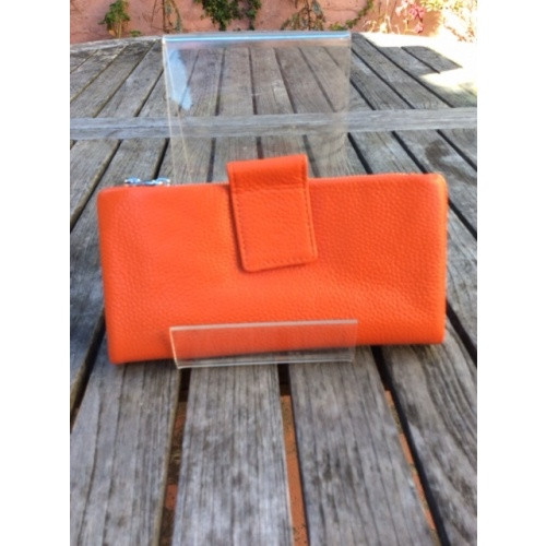 Long Wallet-Orange