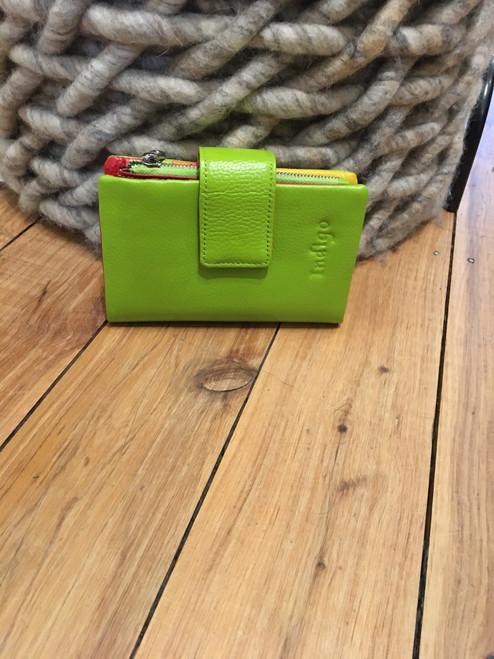 Short Wallet-Lime