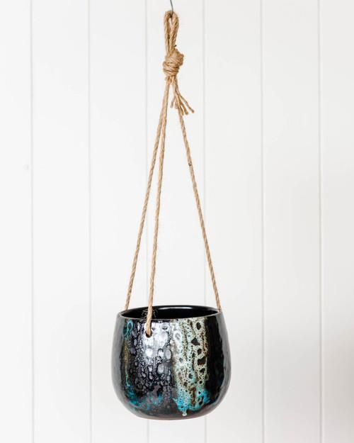 Hanging Pot - Bentley - 15 x 13cm