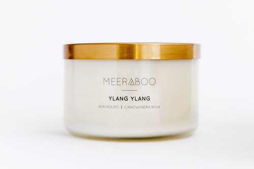 Copper Lid Ylang Ylang Soy Candle - 270gms 40 Hours