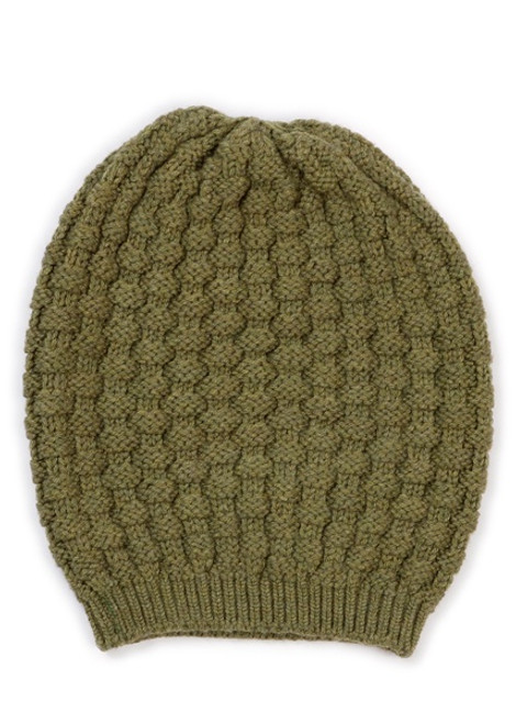 Bellamy Basket Weave Stitch Beanie Merino