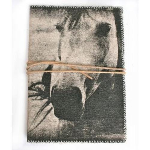 """Journal - Horse Canvas Journal 7"""" x  5"""""""
