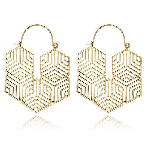 Celine Earrings - Gold
