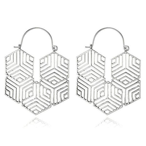 Celine Earrings - Silver