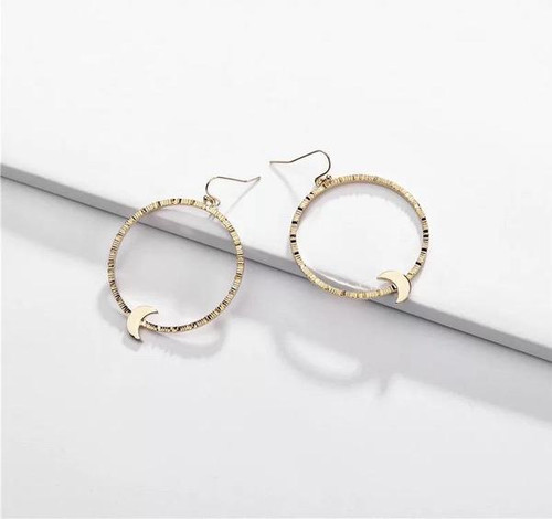 Nina Moon Earrings - Gold