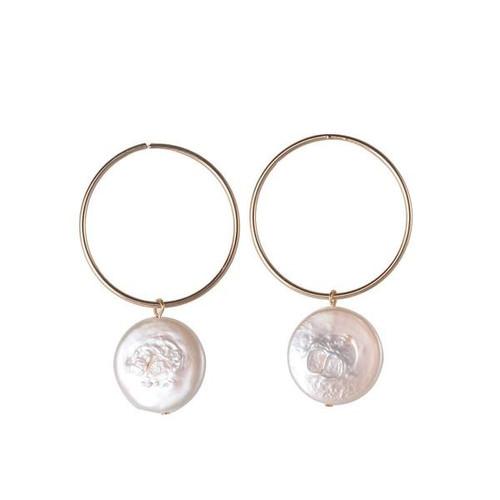 Kathleen Freshwater Pearl Earring