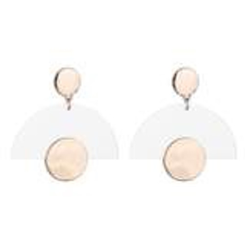 Zoe Copper Earrings - Gold