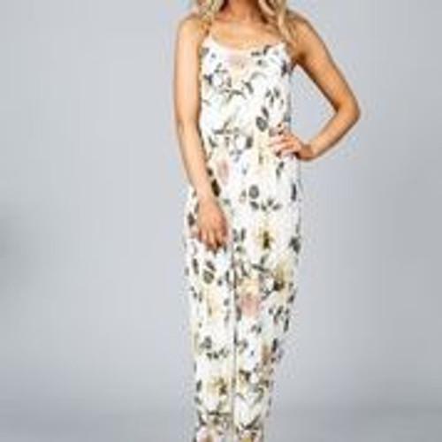 Claro Maxi Dress - Tuscan Garden Print