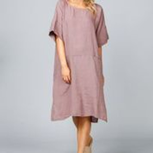 Morico Dress - Sienna Linen