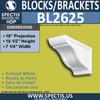"BL2625 Eave Block or Bracket 7.25""W x 10.5""H x 18"" P"