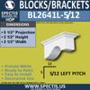 """BL2641L-5/12 Pitch Eave Bracket 2.5""""W x 2.5""""H x 5.5"""" P"""