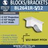 "BL2641R-5/12 Pitch Eave Bracket 2.5""W x 2.5""H x 5.5"" P"