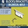 """BL2812L-8/12 Pitch Eave Bracket 3.5""""W x 3.75""""H x 6.5"""" P"""