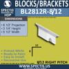 "BL2812R-8/12 Pitch Eave Bracket 3.5""W x 3.75""H x 6.5"" P"