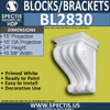 "BL2830 Eave Block or Bracket 16.2""W x 24""H x 15"" P"