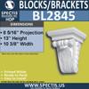 "BL2845 Eave Block or Bracket 10.3""W x 13""H x 8.5"" P"