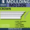 """MD1206 Spectis Crown Molding Trim 4 3/4""""P x 7""""H x 144""""L"""