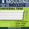 """MD1216 Spectis Molding Base Trim 3 1/8""""P x 16 5/8""""H x 144""""L"""