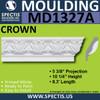 """MD1327A Spectis Crown Molding 5 3/8""""P x 10 1/4""""H x 99""""L"""