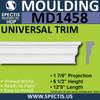 "MD1458 Spectis Base Cap Trim 1 7/8""P x 5 1/2""H x 144""L"