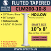 """CLM200-10-8 Fluted Tapered Column 10"""" x 96"""""""