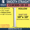 "CLM300-10-10 Smooth Straight Column 10"" x 120"""
