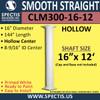 "CLM300-16-12 Smooth Straight Column 16"" x 144"""