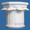 "CAP900-12 Rope Cap 19 3/8""W x 17 1/2""H for 12"" top column"