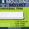 MD1957 Universal Molding Trim decorative spectis urethane