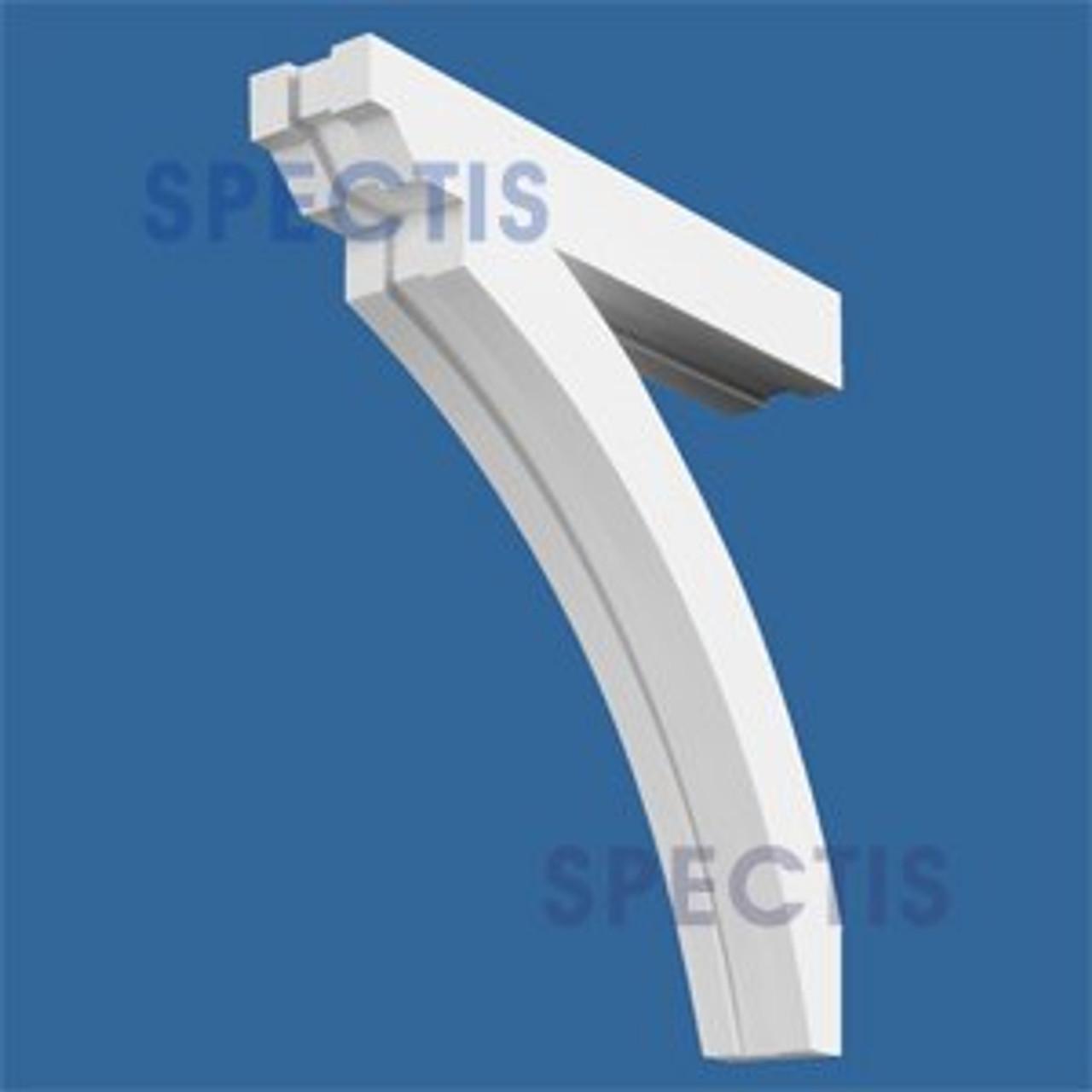 "BL2541 Corbel Block or Eave Bracket 4.5""W x 27""H x 26"" P"