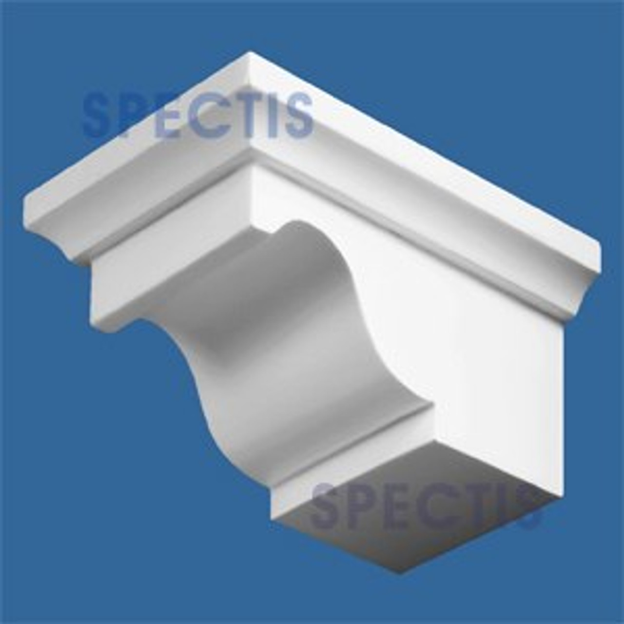 "BL2556 Corbel Block or Eave Bracket 3.25""W x 2.25""H x 4.75"" P"