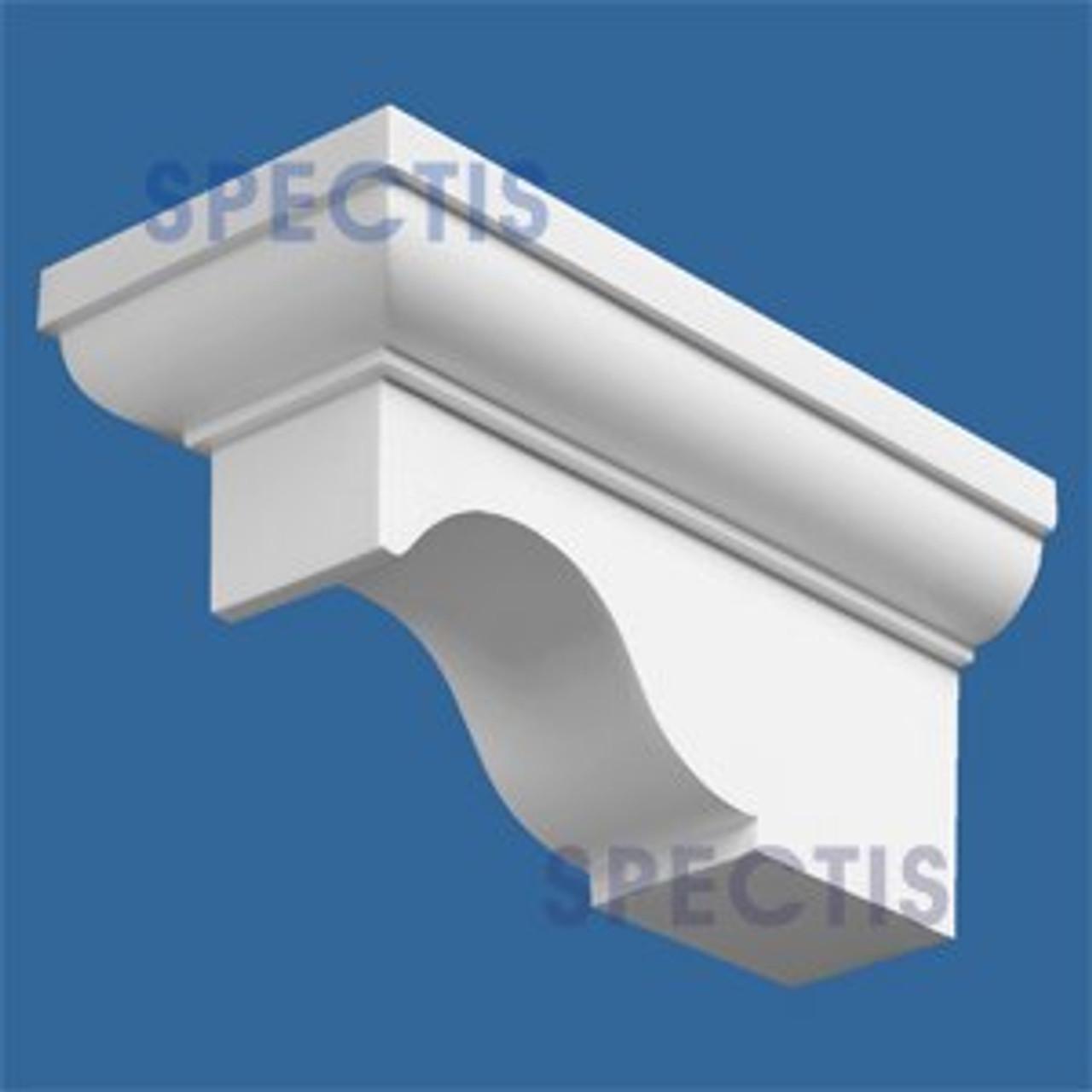 "BL2560 Corbel Block or Eave Bracket 4.25""W x 4""H x 9"" P"