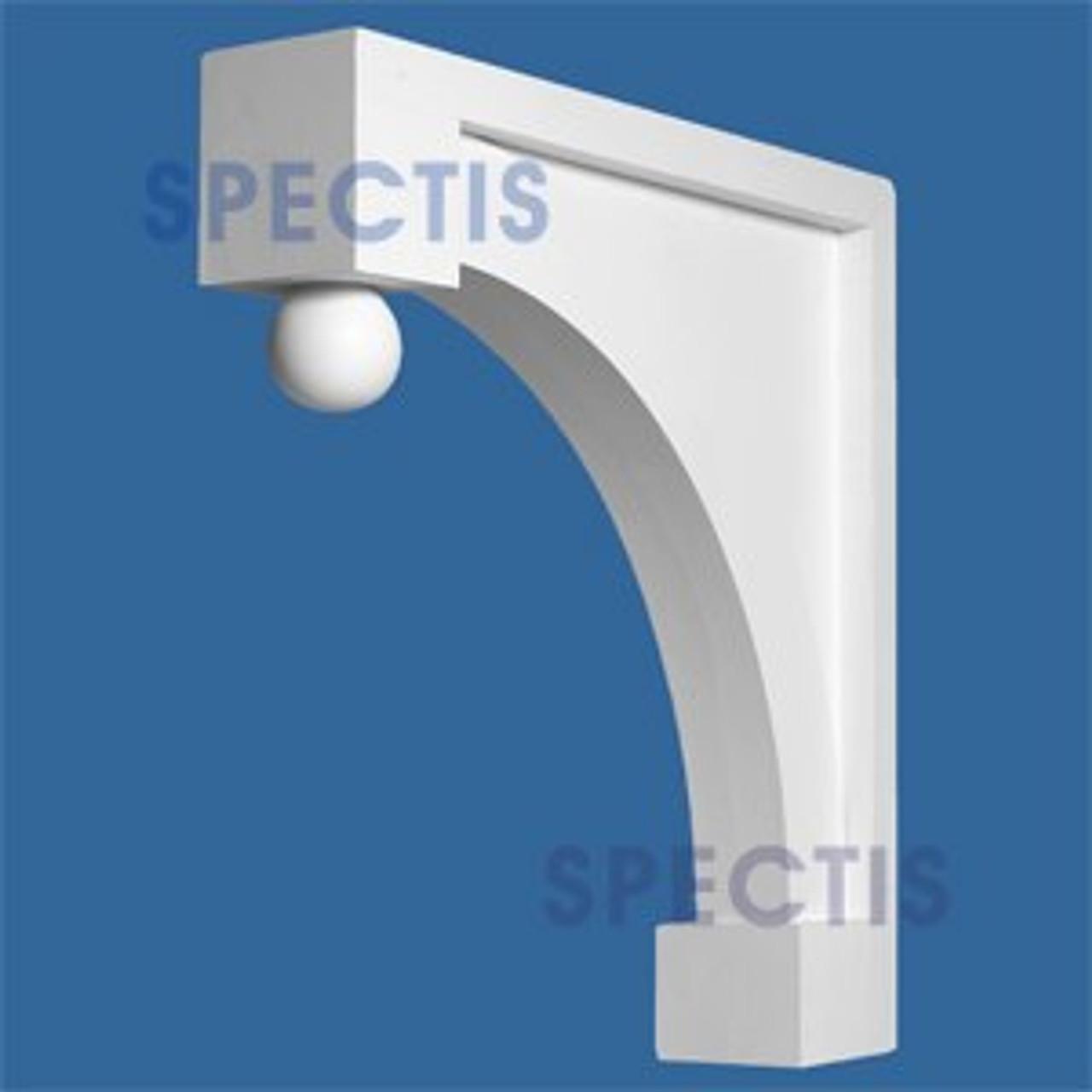"BL2567 Corbel Block or Eave Bracket 6""W x 32""H x 32"" P"