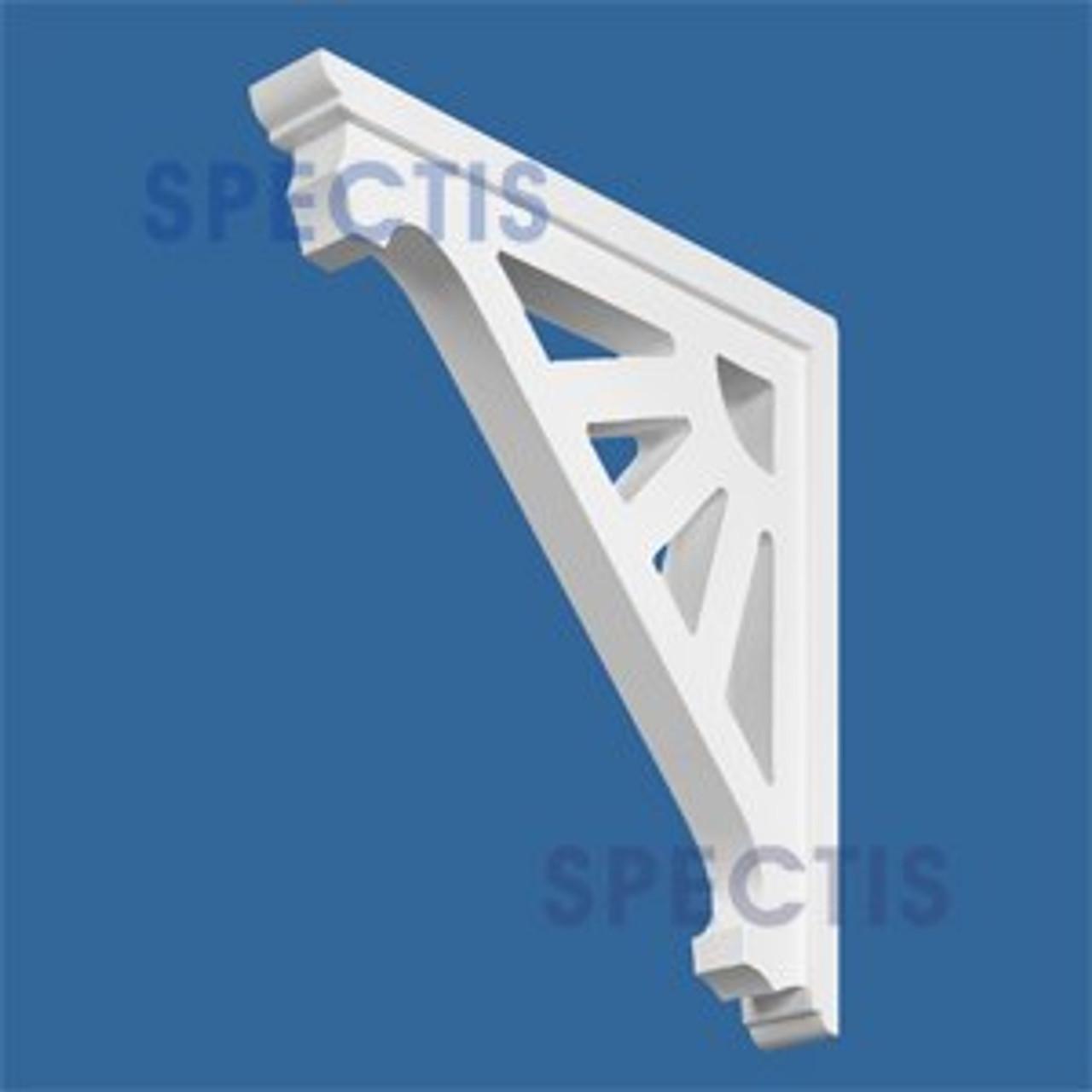 "BL2568 Corbel Block or Eave Bracket 2""W x 16""H x 16"" P"