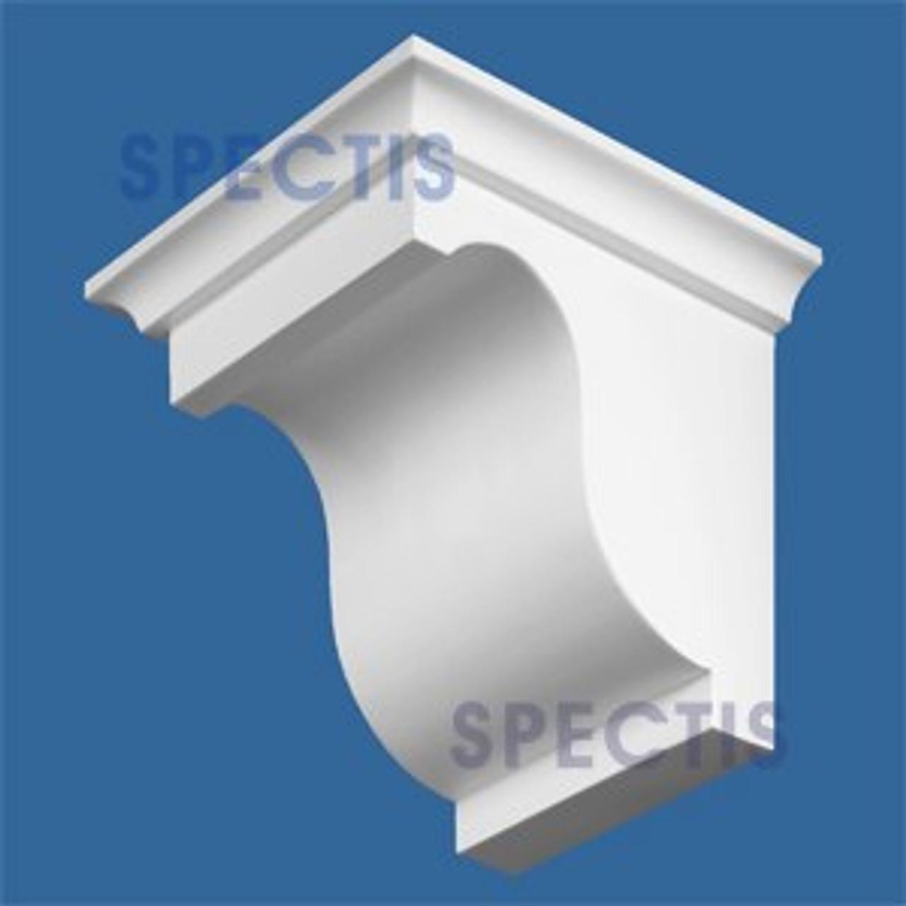 """BL2571L-6.5/12 Pitch Corbel or Eave Bracket 5.5""""W x 6""""H x 6.5"""" P"""