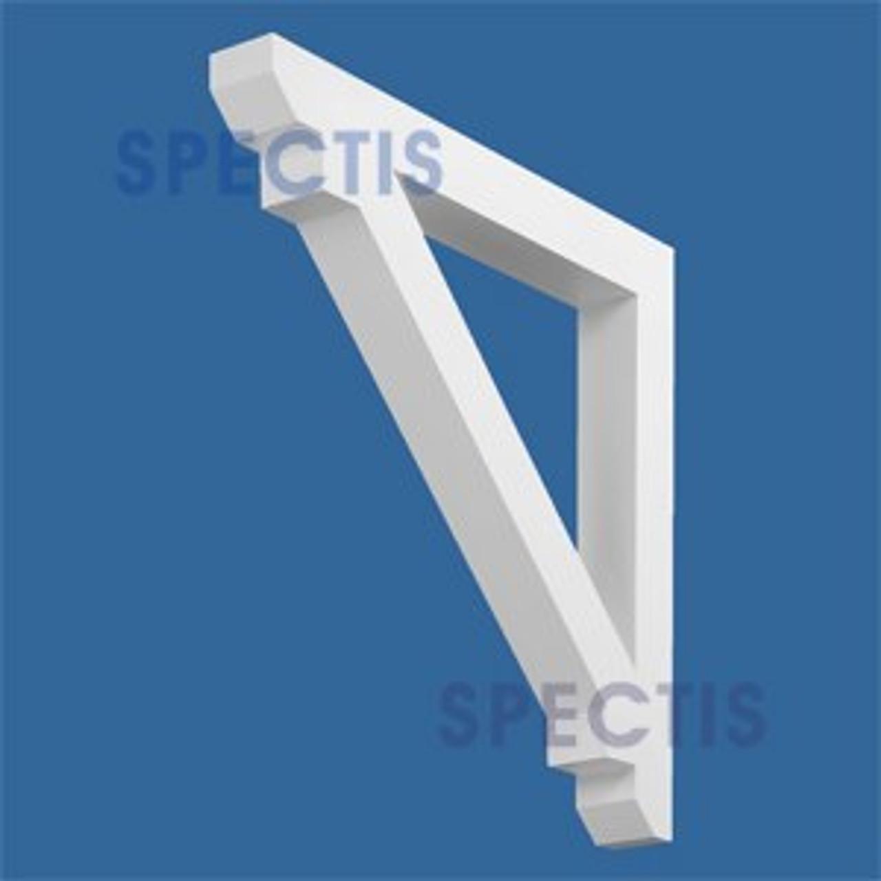 "BL2576 Corbel Block or Eave Bracket 4""W x 32""H x 32"" P"