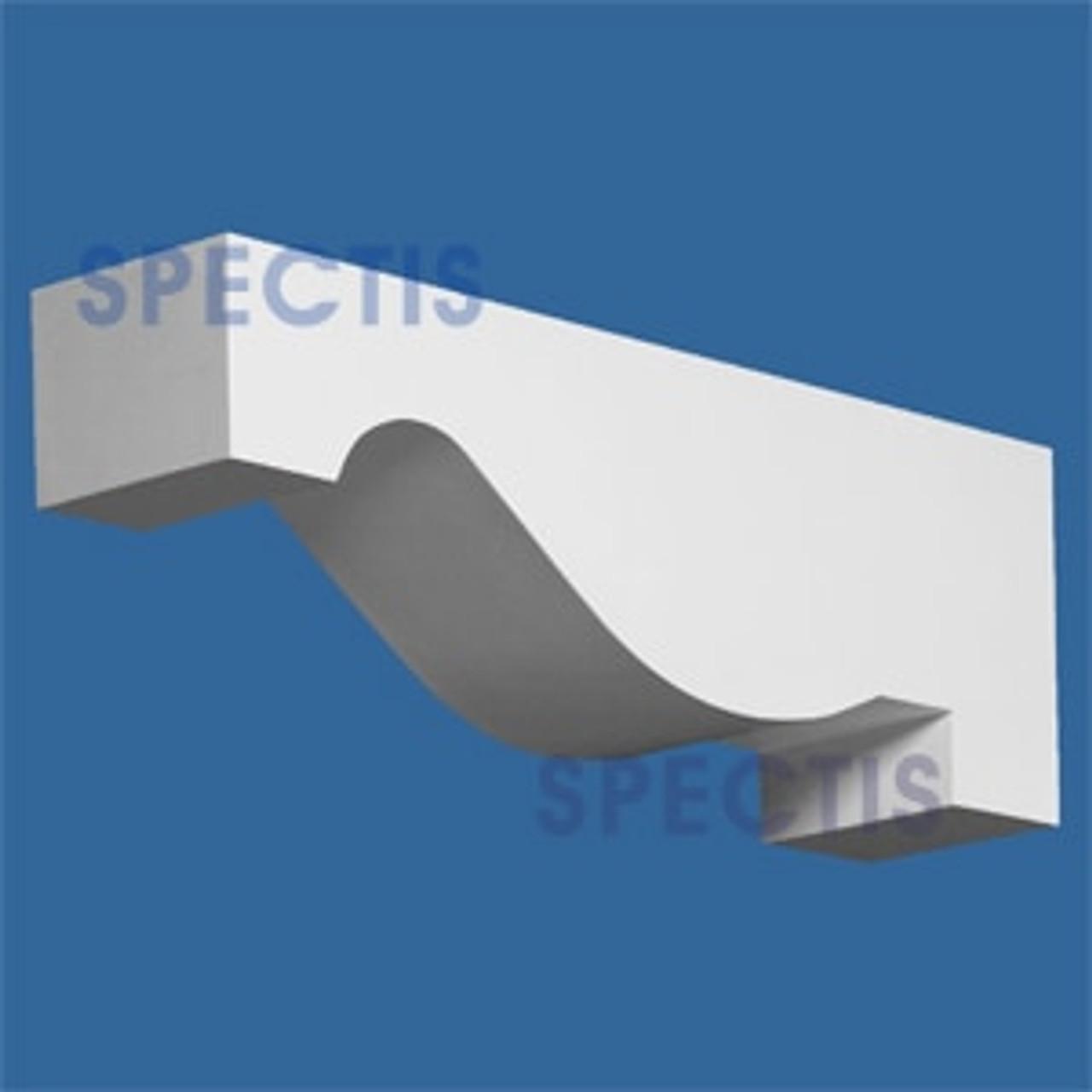 "BL2583 Corbel Block or Eave Bracket 5.5""W x 7.5""H x 21.5"" P"