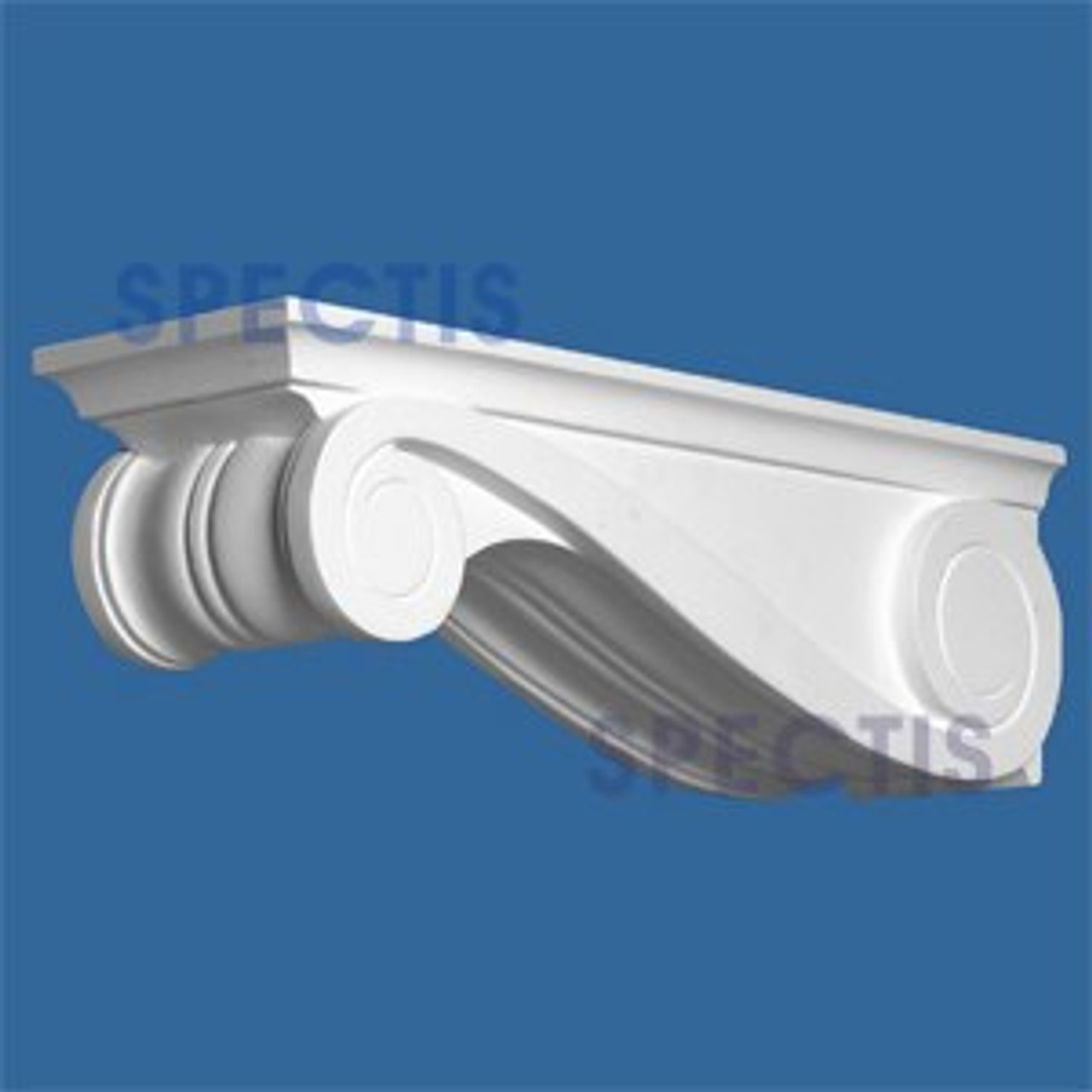 "BL2597 Corbel Block or Eave Bracket 6.27""W x 7""H x 22.25"" P"
