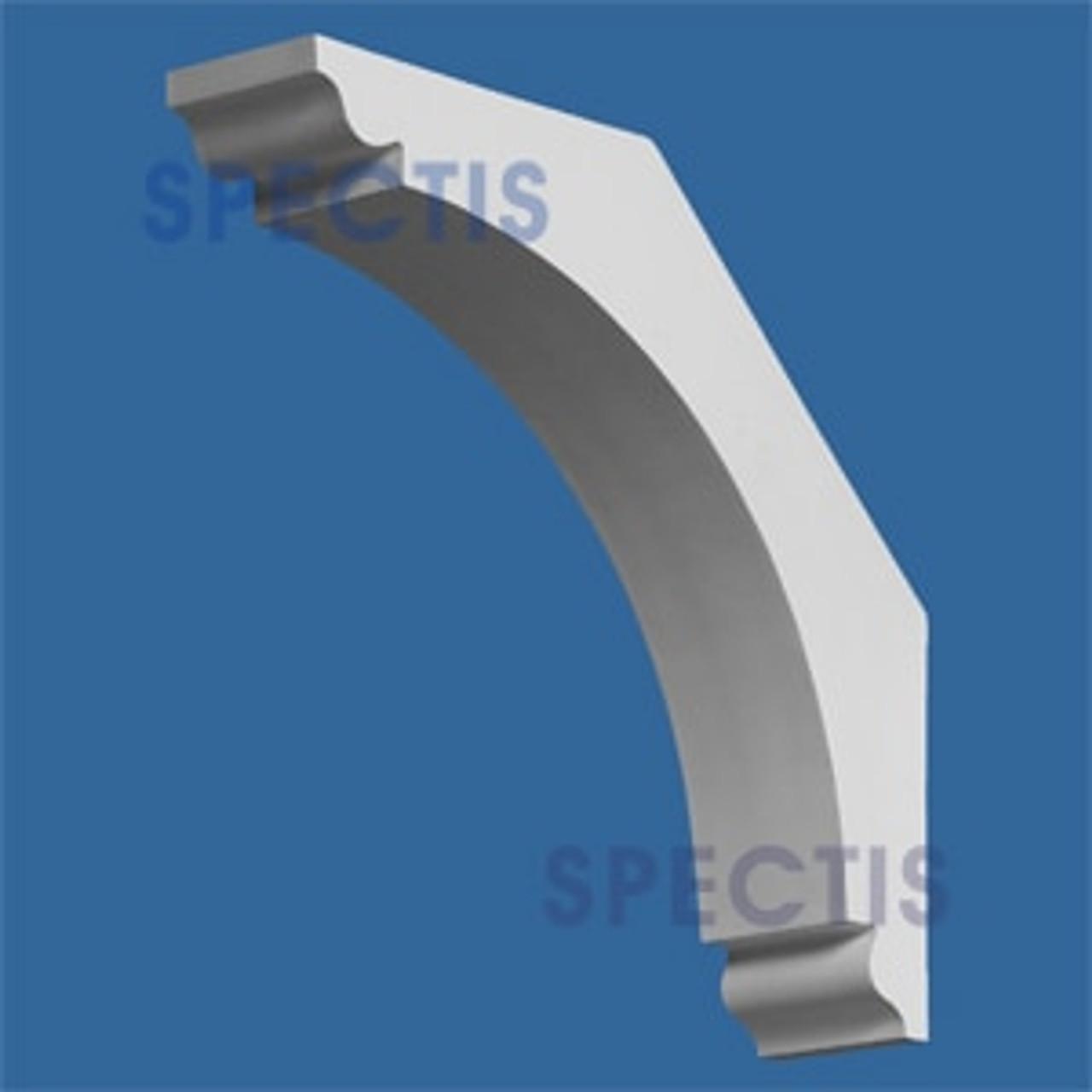 "BL2602 Corbel Block or Eave Bracket 4""W x 16""H x 16"" P"