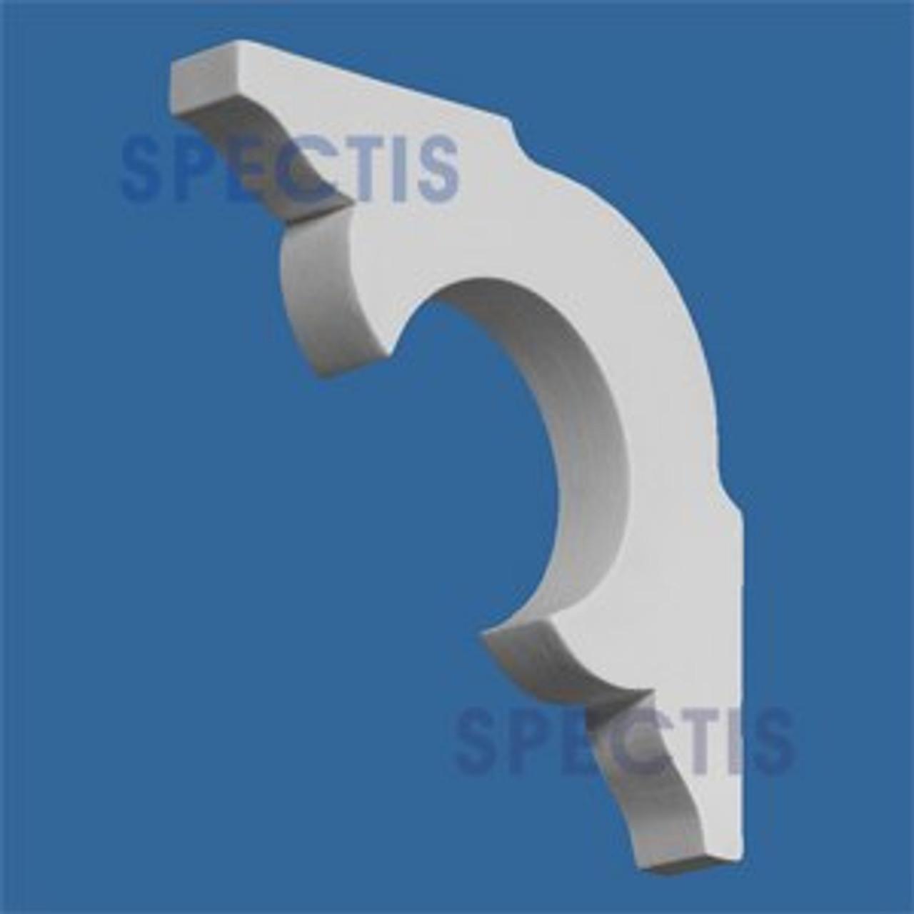 "BL2603 Corbel Block or Eave Bracket 0.75""W x 4.75""H x 4.75"" P"
