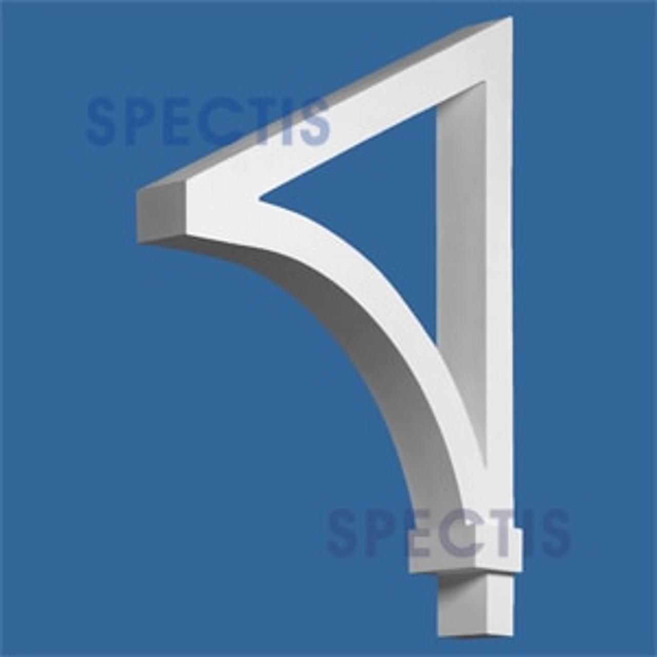 "BL2607 Corbel Block or Eave Bracket 4""W x 29""H x 22"" P"