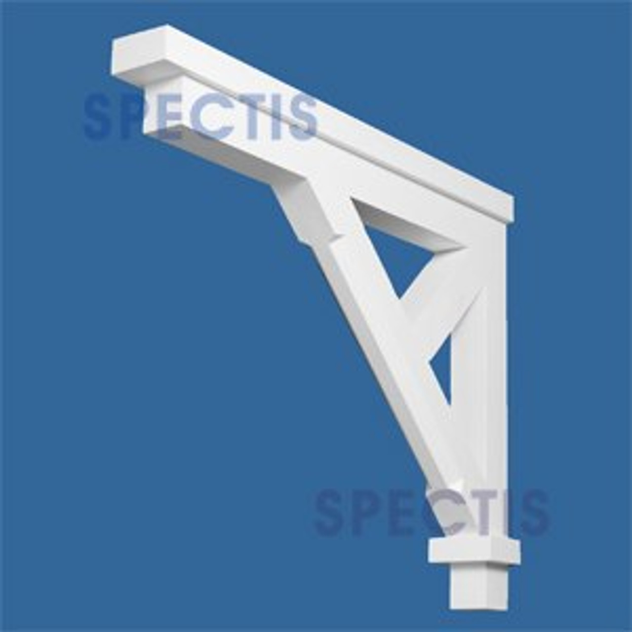 "BL2615 Corbel Block or Eave Bracket 6""W x 35.4""H x 43.75"" P"