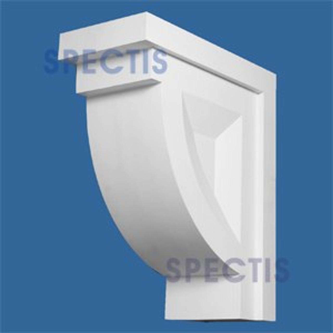 "BL2633 Corbel Block or Eave Bracket 14.625""W x 35.6""H x 30"" P"