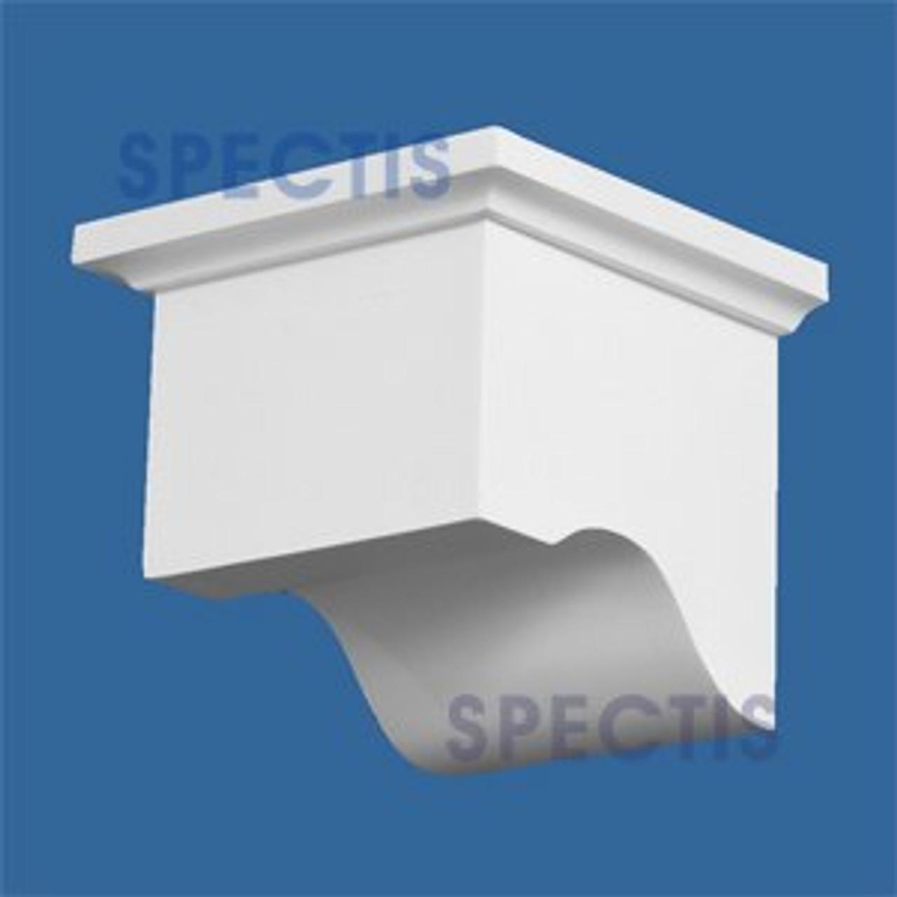 "BL2652 Corbel Block or Eave Bracket 4.5""W x 4""H x 4.5"" P"