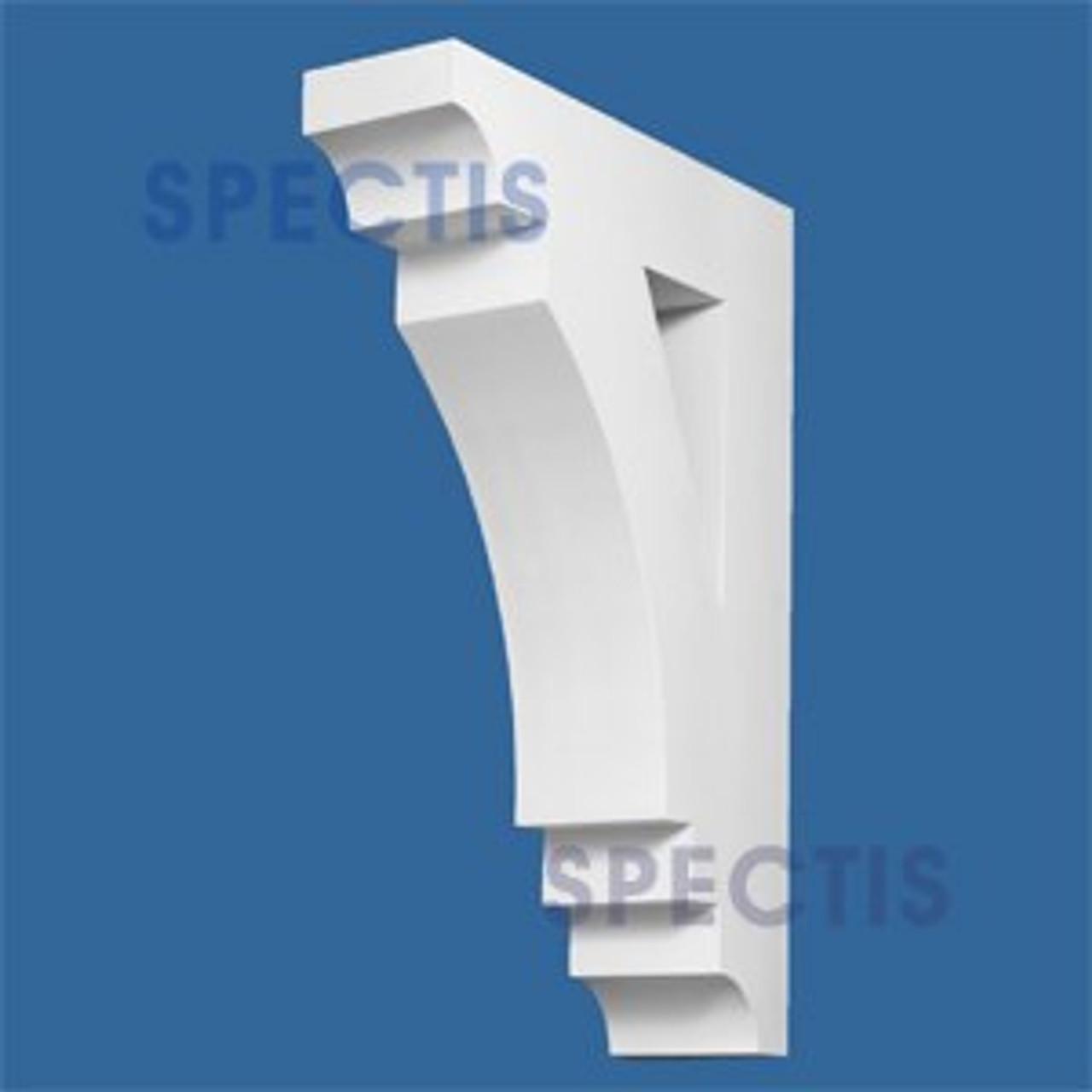 "BL2661 Corbel Block or Eave Bracket 36""W x 36""H x 24"" P"