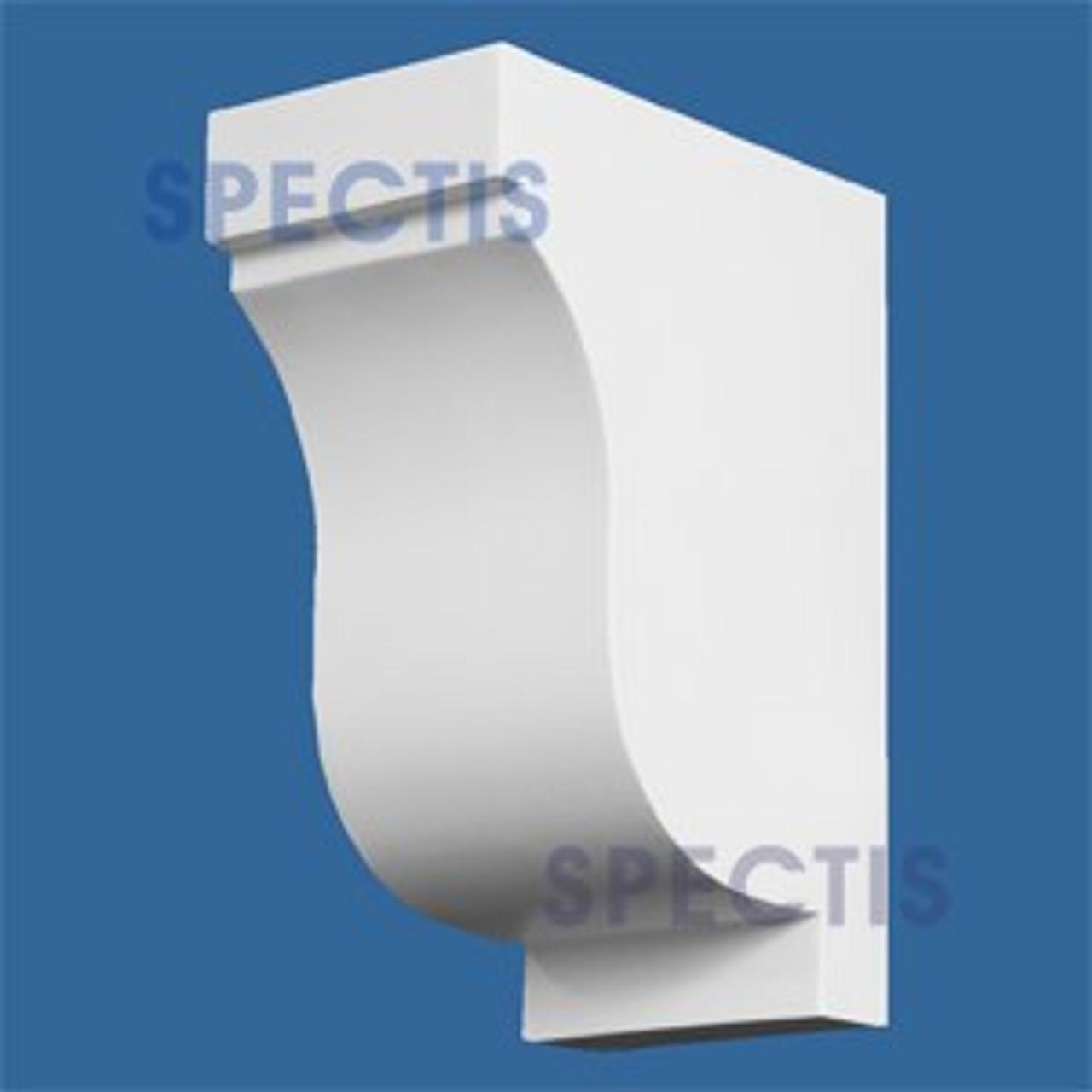 "BL2670 Corbel Block or Eave Bracket 3.5""W x 8""H x 5.75"" P"