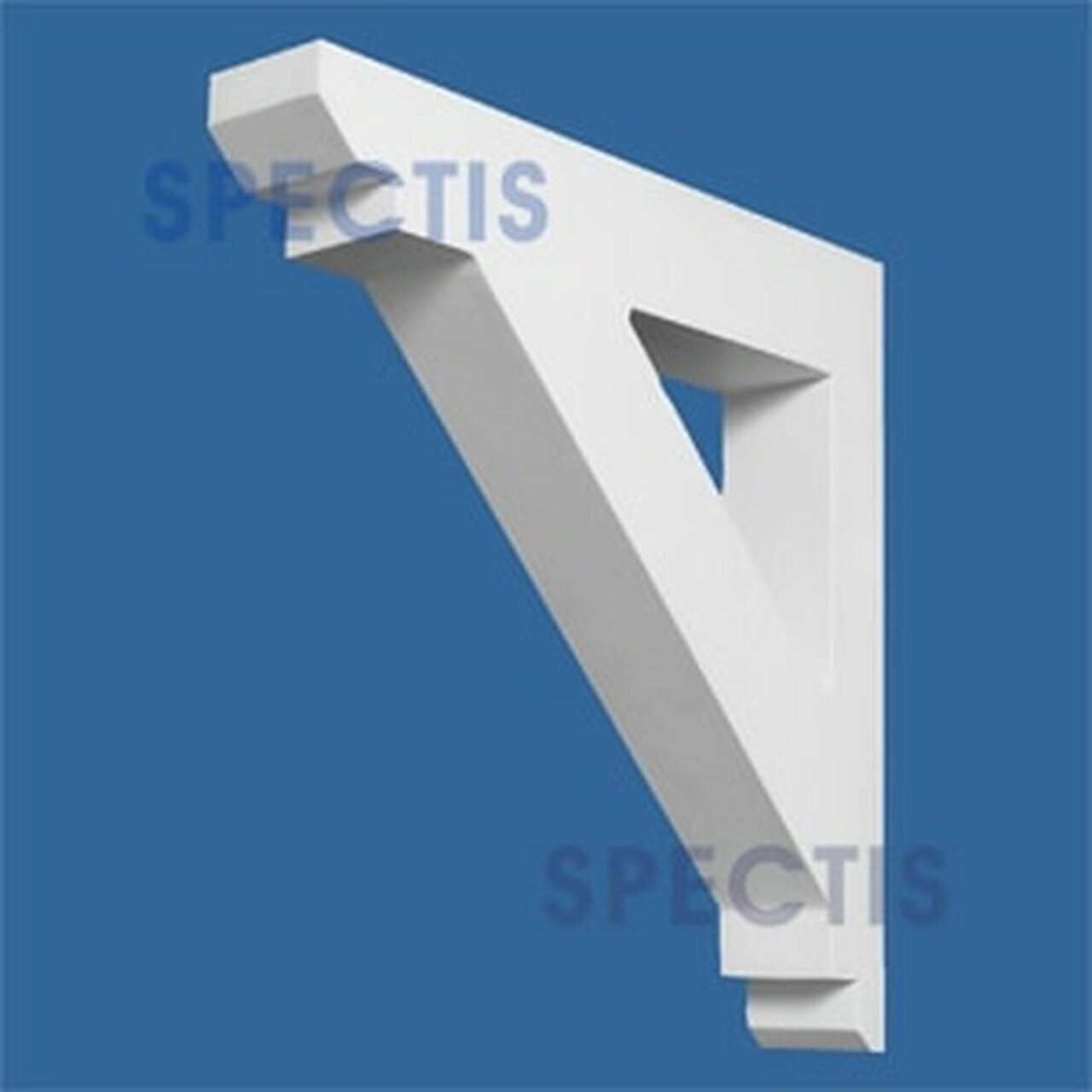 "BL2672 Corbel Block or Eave Bracket 3""W x 17.5""H x 17.5"" P"